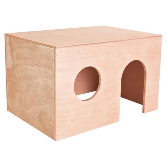 Как сделать домик для хомяка из картона маленький